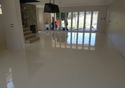 Residential epoxy floor in Hartenbos