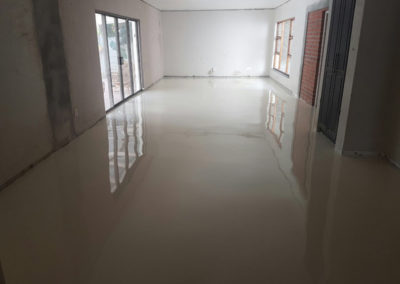Residential epoxy floor after