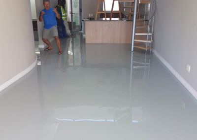 Residential epoxy floor in Blouberg