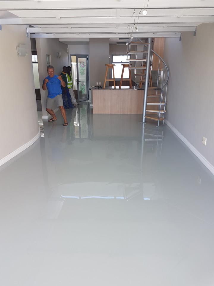 Residential epoxy floor in Blouberg