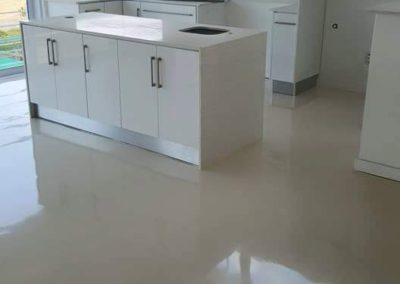 Residential self-levelling epoxy floor in Langebaan
