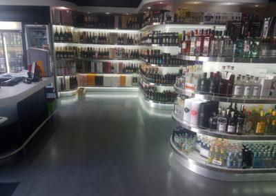 Retail Space (Liqour Store) Epoxy Floor Application