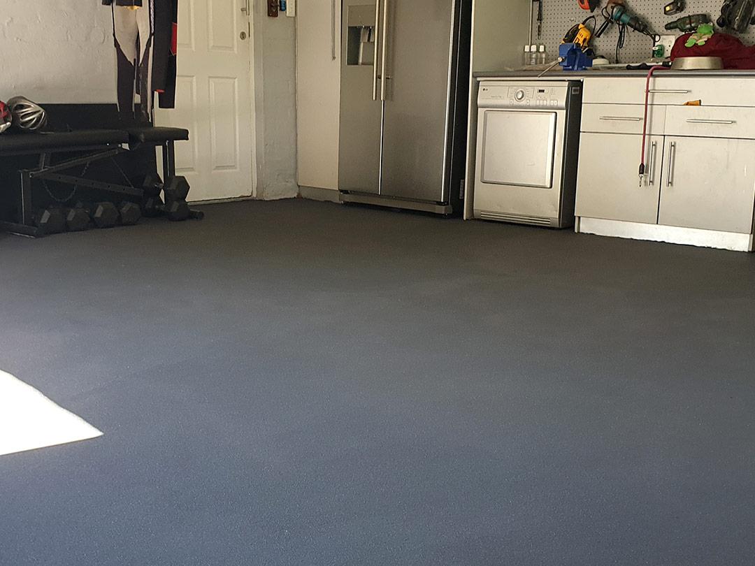 Titanium Epoxy Flooring System
